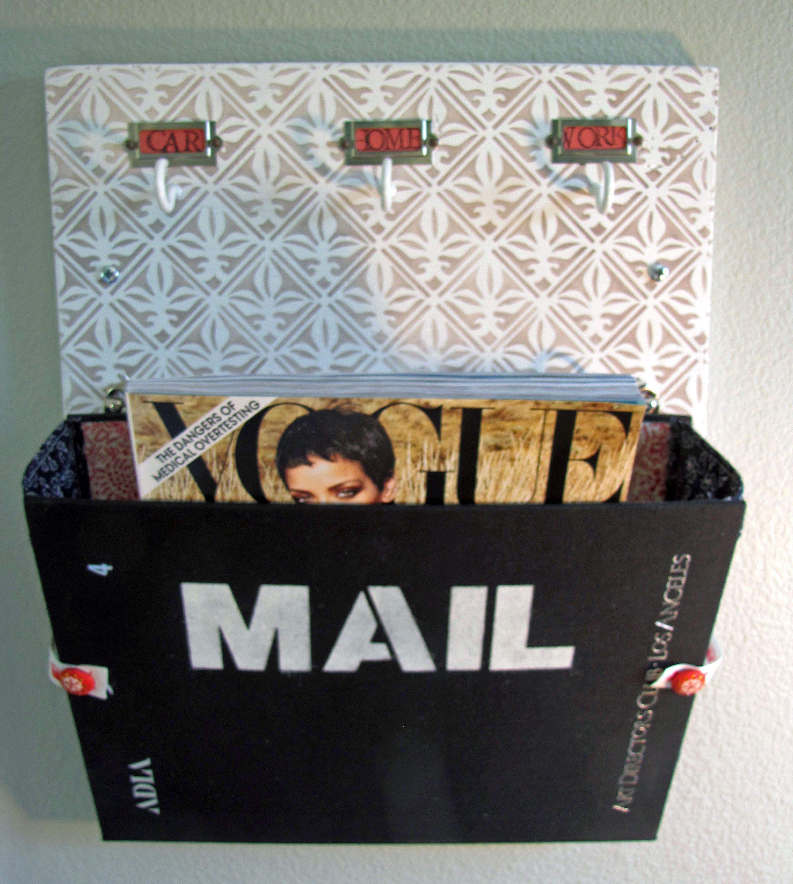 woodworking plans mail organizer