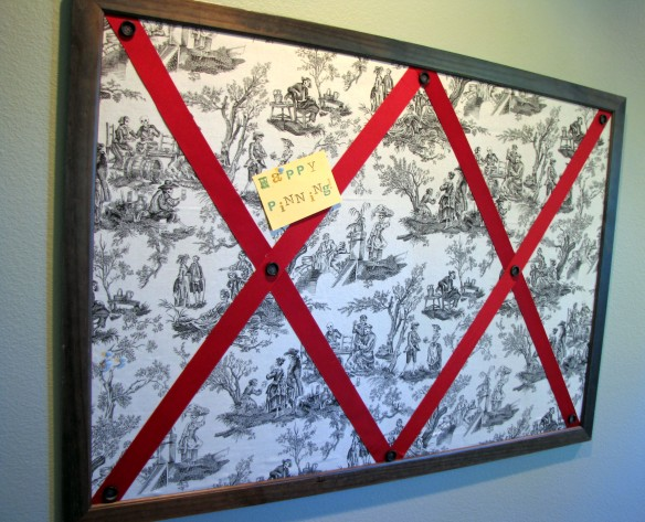 toile bulletin board