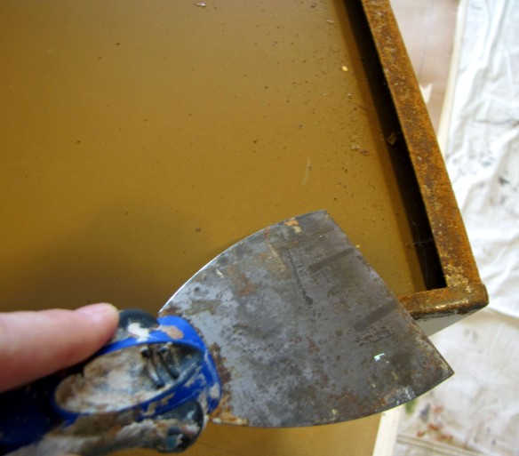 how to take rust off metal