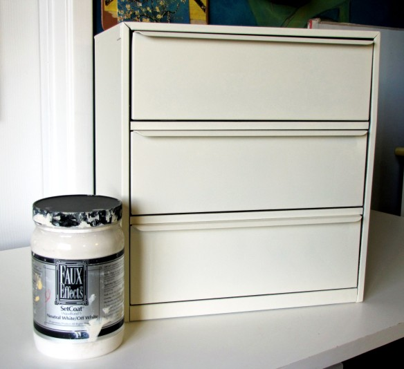 painted metal drawers