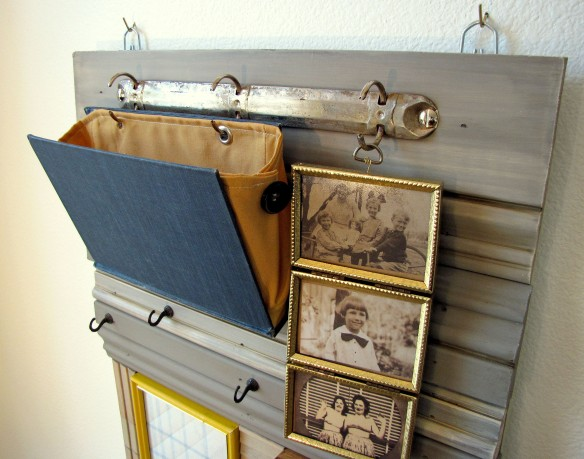 hanging mail holder
