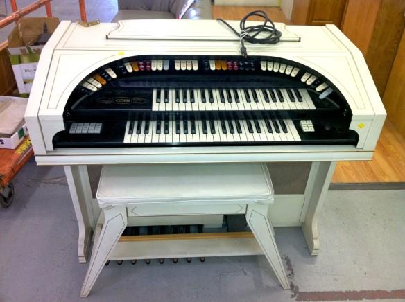white organ