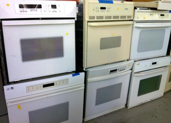 salvaged ovens