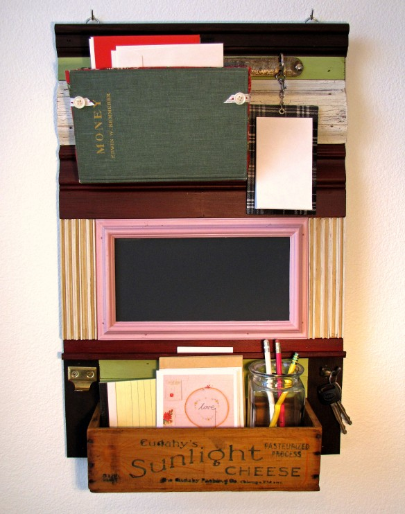 wall mounted organizer