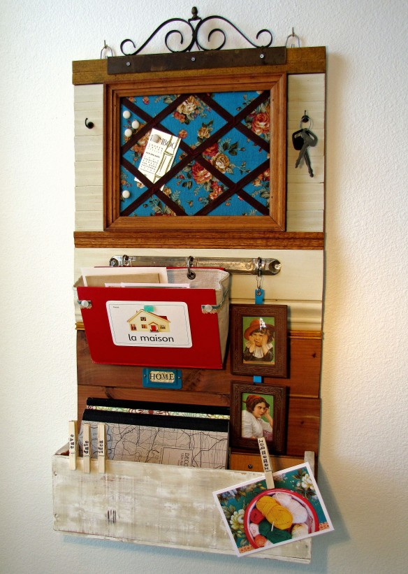 cottage chic organizer