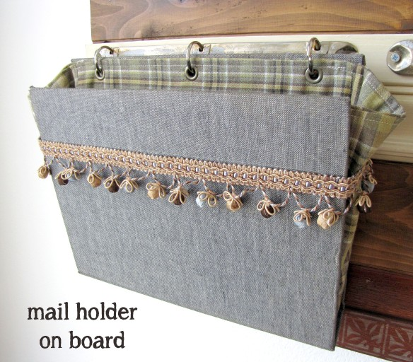 large mail holder