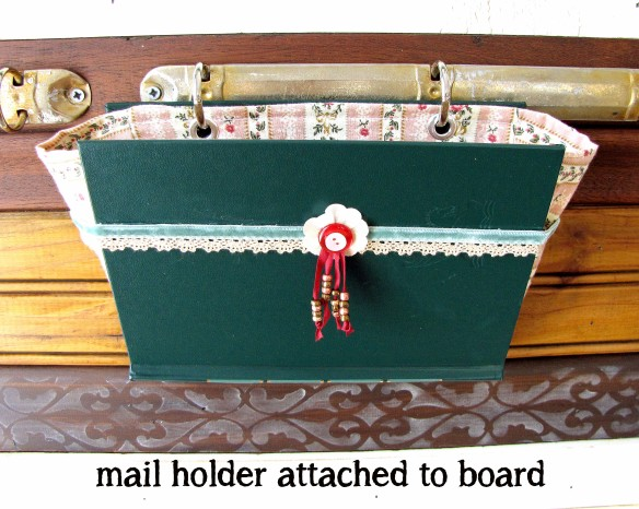 small mail holder