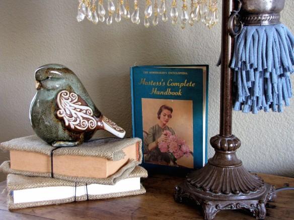 vintage homemaker book