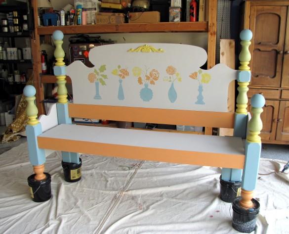 bed bench design