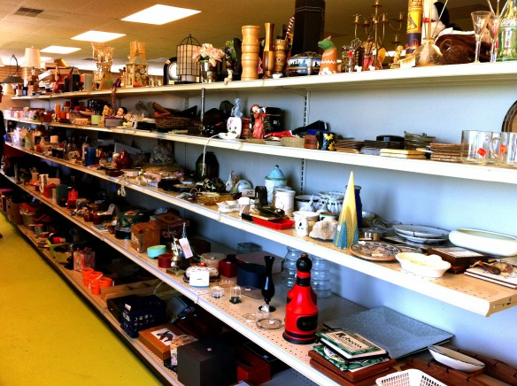 miscellaneous shelf