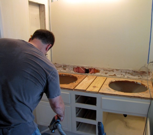 countertop removal