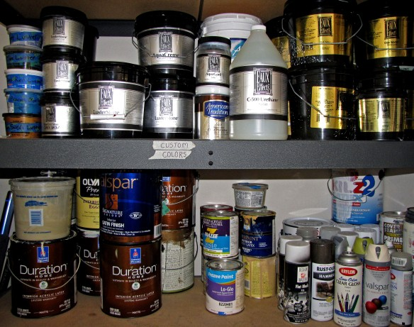 Paint Stash 2013