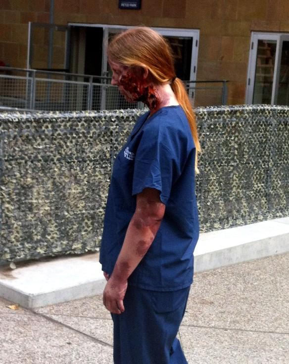 Walking Dead medic