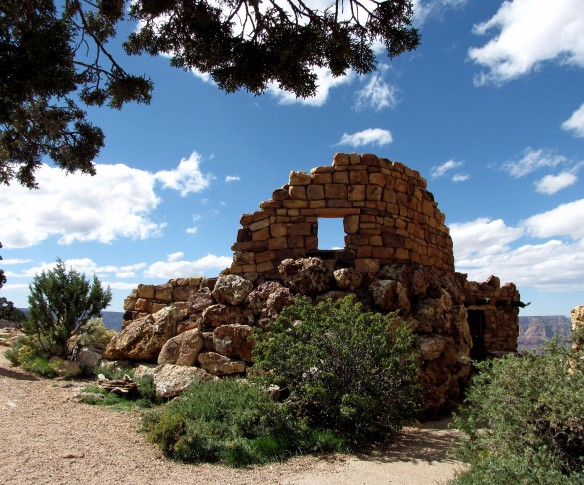 Ruins at the Canyon