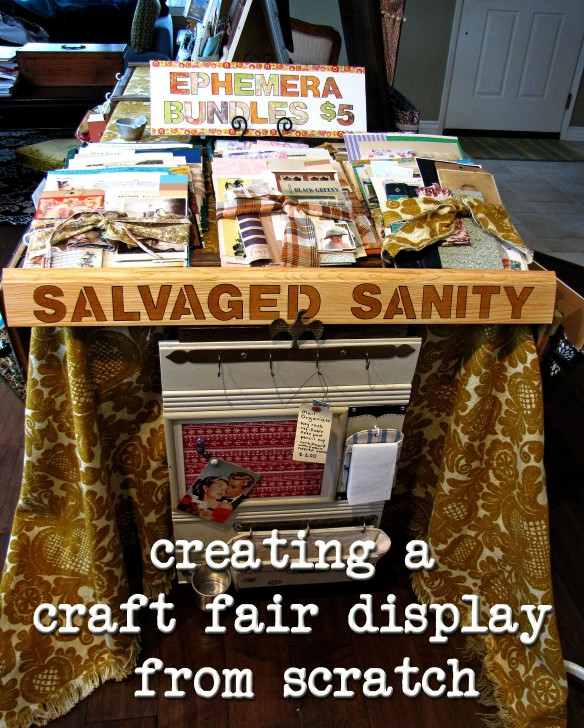 salvaged sanity display