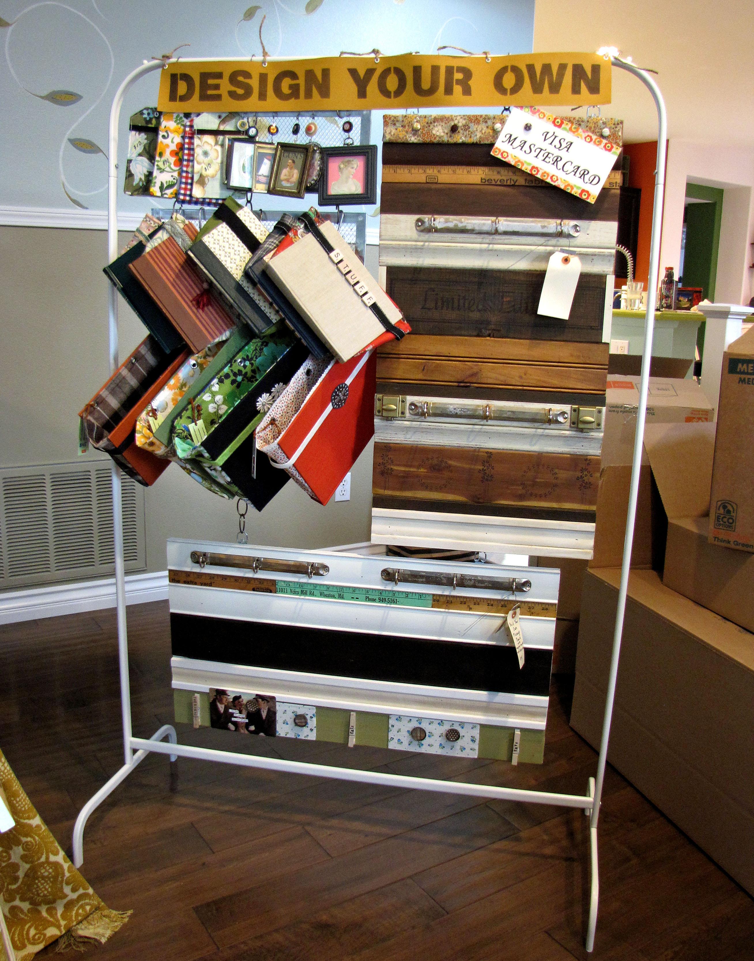 Craft show display destashio for How to make display shelves for craft show
