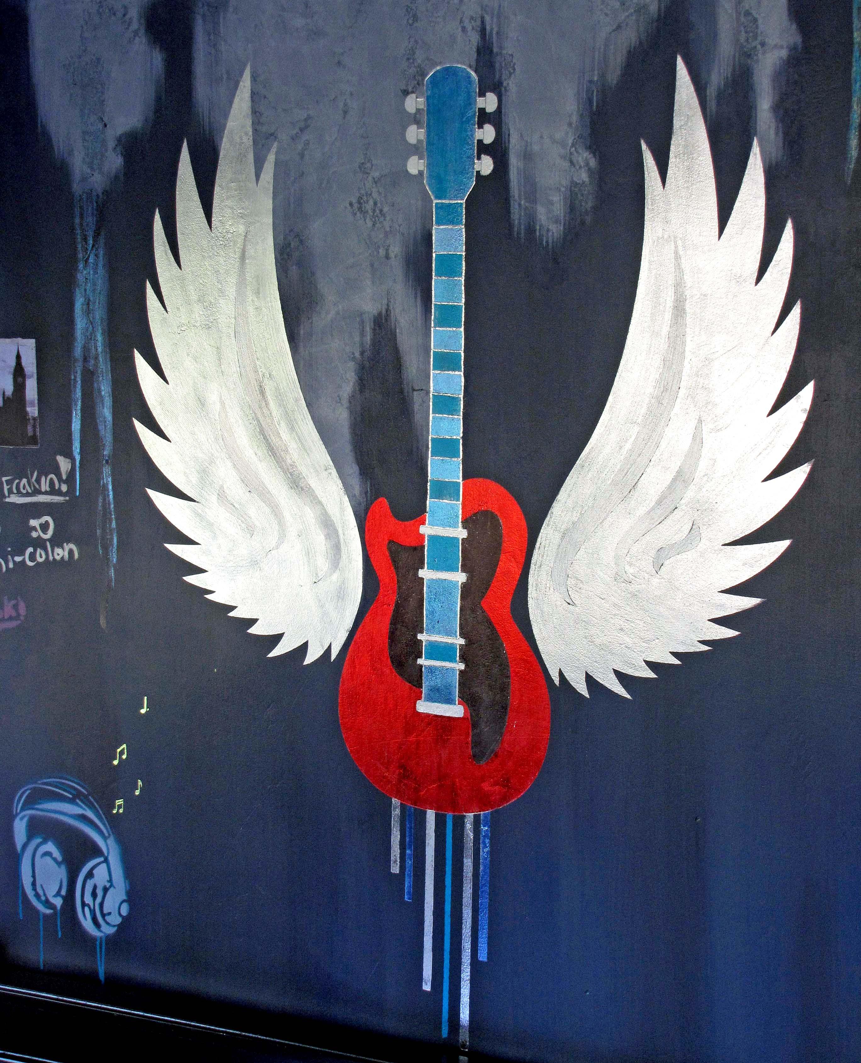 Guitar Mural Destashio