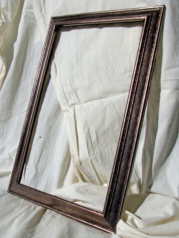 frame gilded in Celestial leaf