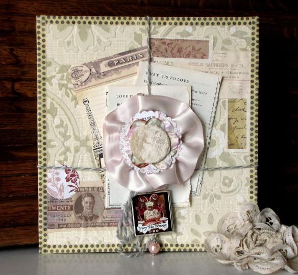 rosette art collage