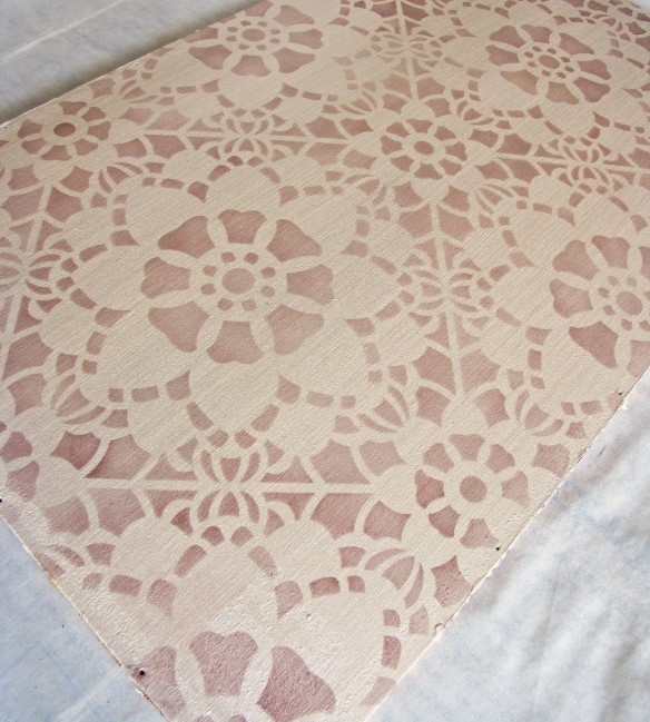 beautiful job stenciling
